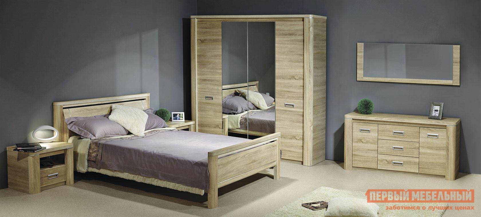 Спальный гарнитур Первый Мебельный Спальня Магнолия