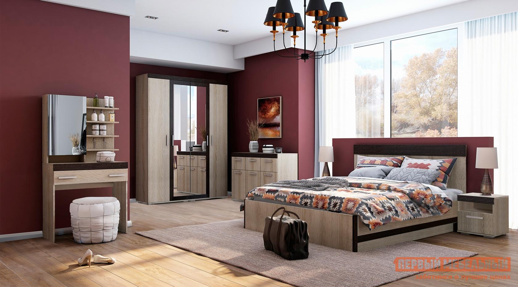 Спальный гарнитур Первый Мебельный Бланес К2 цена в Москве и Питере