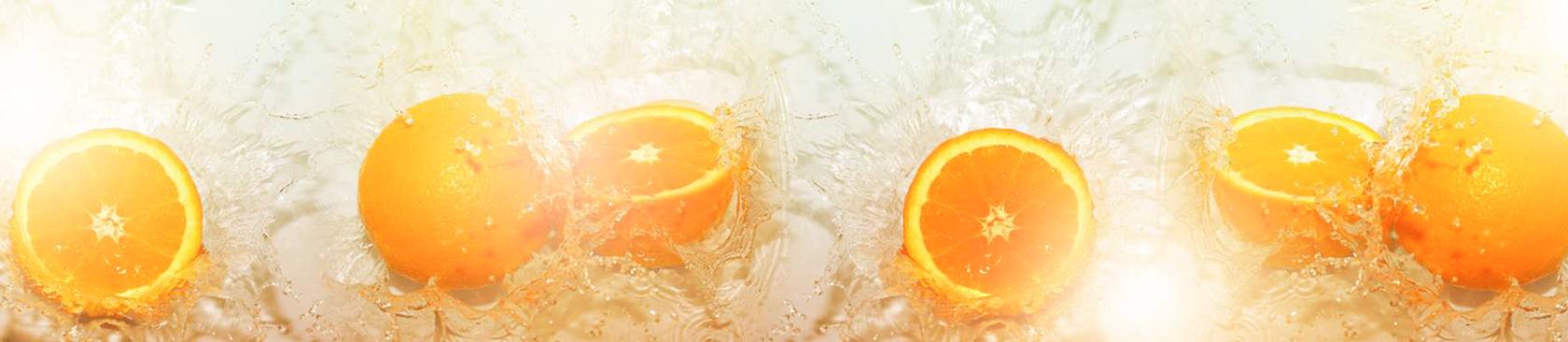 Стеновая панель ПМ Стеновая панель MSK Апельсины длина 280 см, глянец MSK Апельсины