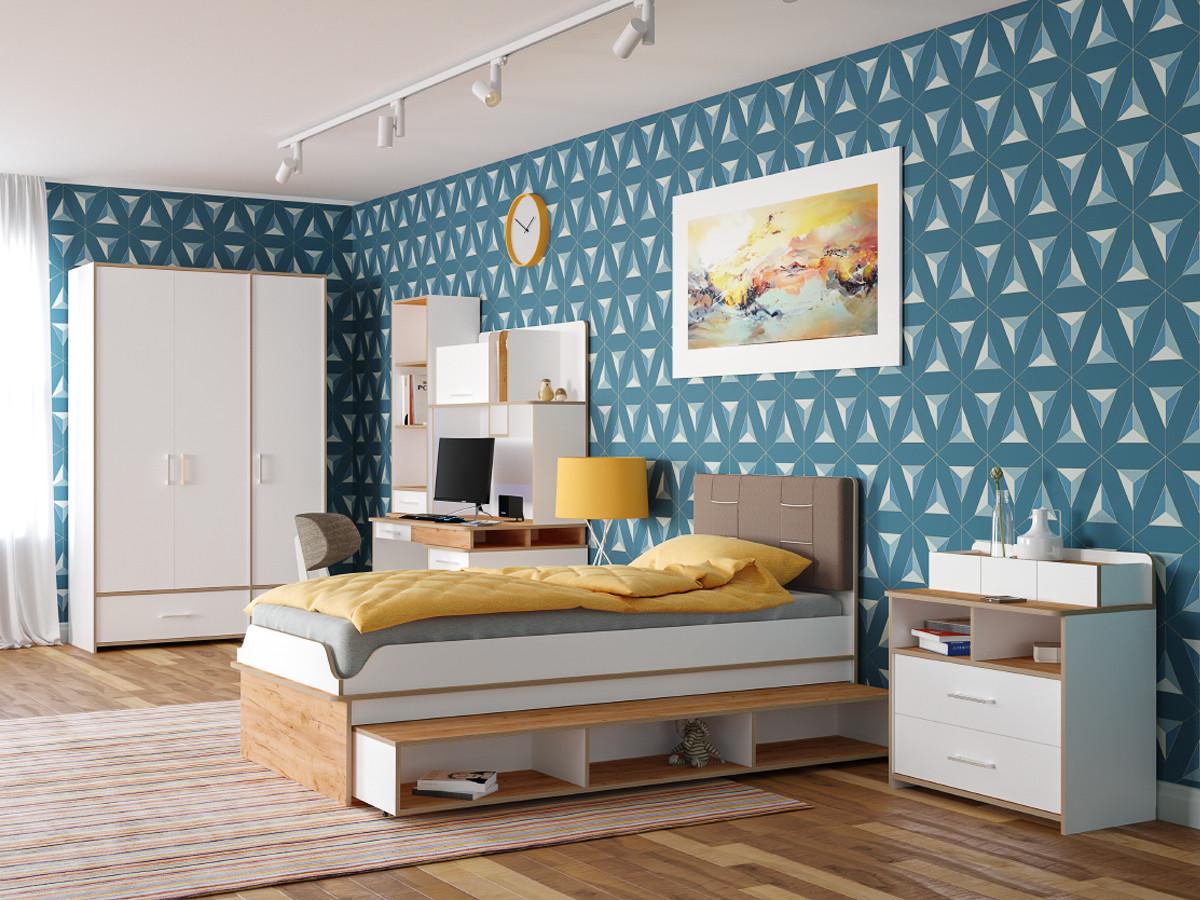 Комплект детской мебели Первый Мебельный Комплект детской мебели Вуди К1