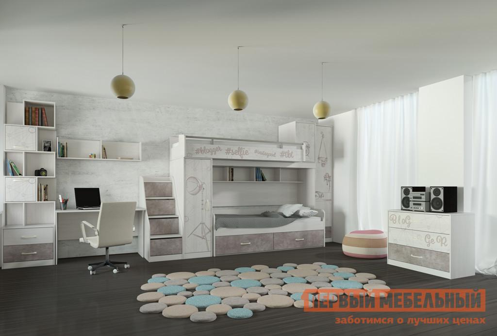 Комплект детской мебели Первый Мебельный Селфи К1