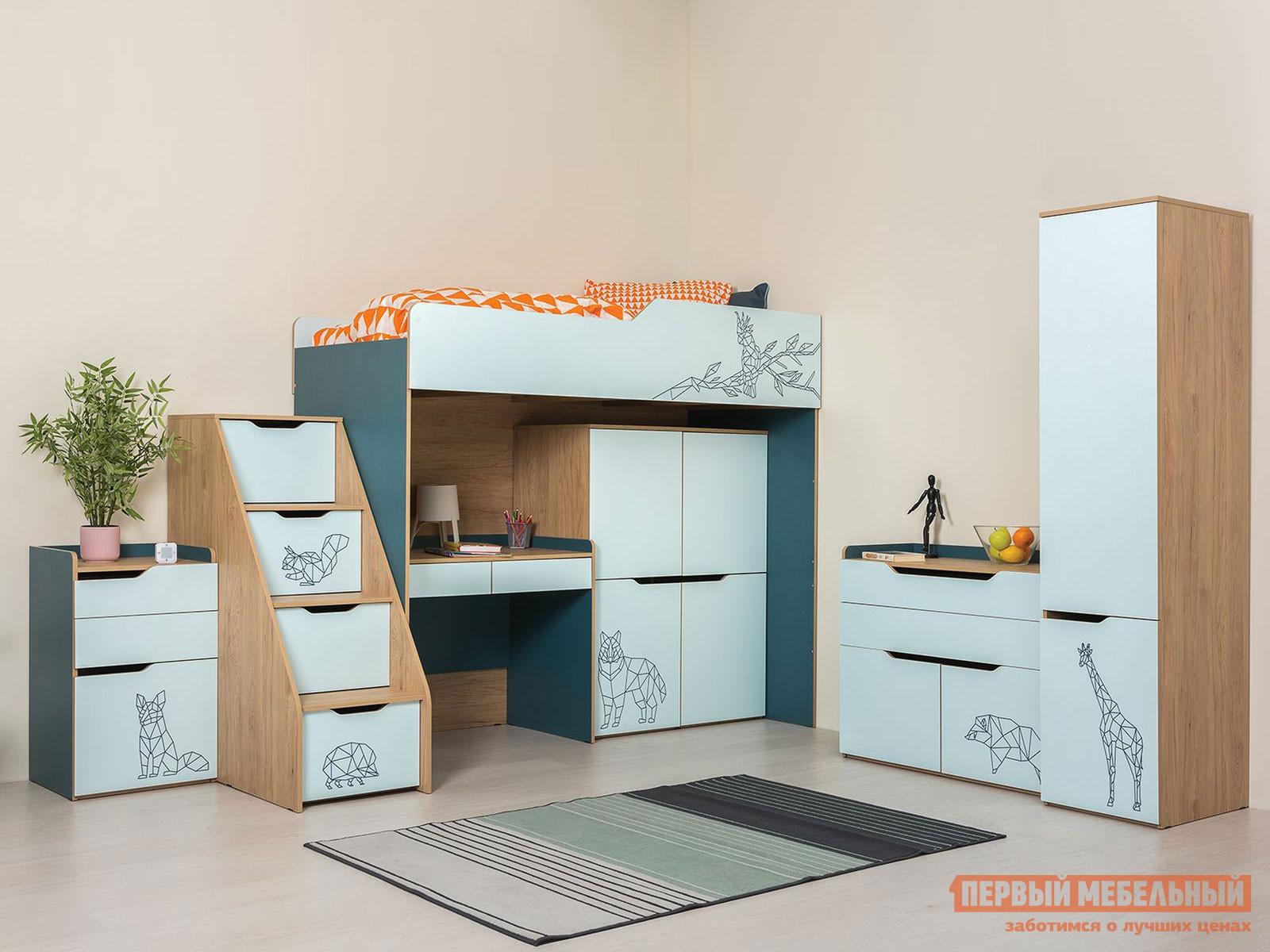 Комплект детской мебели Первый Мебельный Комплект детской мебели Гудвин К1 комплект детской мебели мебельсон форсаж к1
