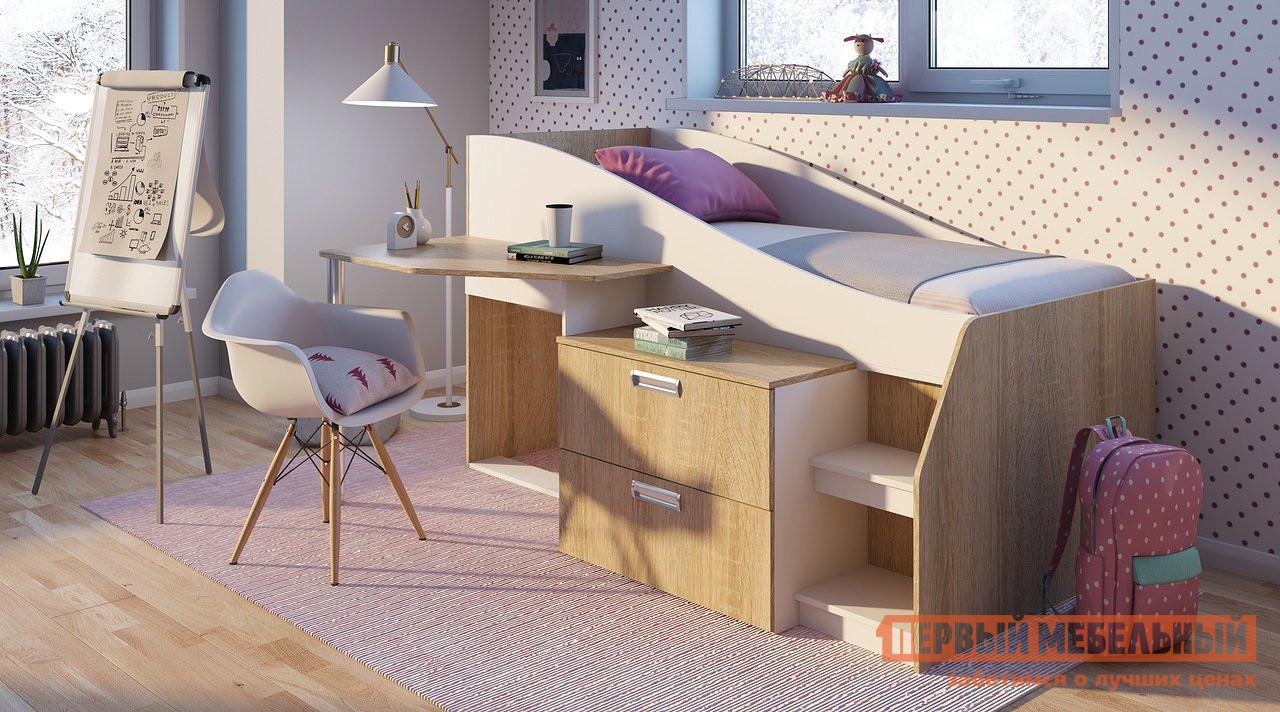 Кровать-чердак Первый Мебельный Детская Скаут кровать чердак первый мебельный тетрис 1 345 кровать чердак тетрис 1 353 столешница