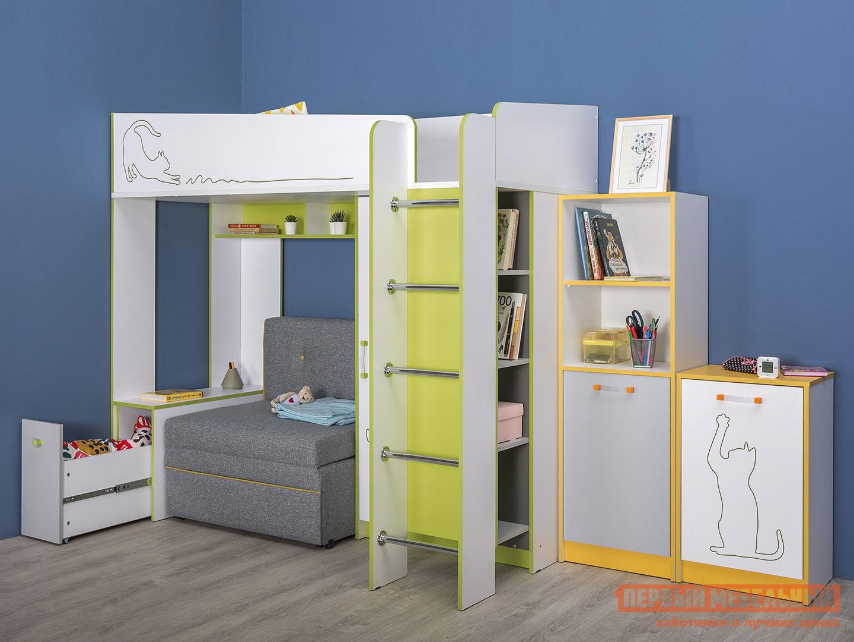Комплект детской мебели Первый Мебельный Комплект детской мебели Альфа К1 комплект детской мебели мебельсон форсаж к1