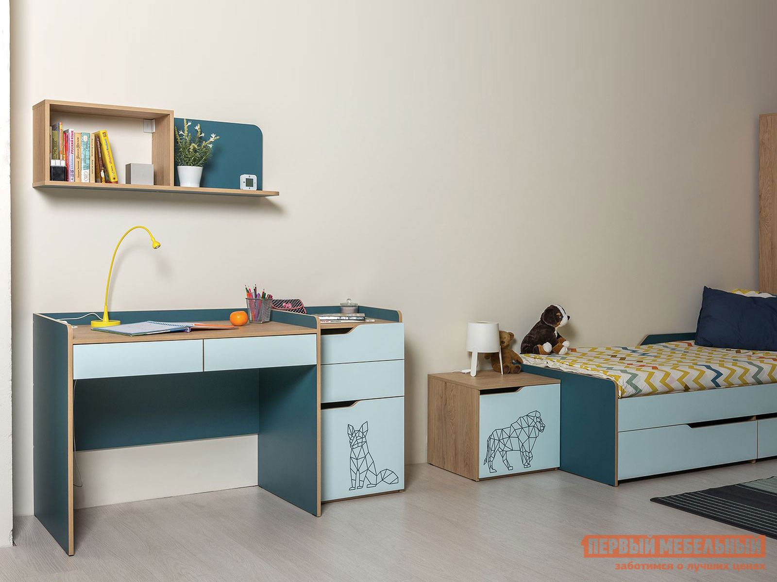 комплект детской мебели первый мебельный жили были k1 Комплект детской мебели Первый Мебельный Комплект детской мебели Гудвин К4