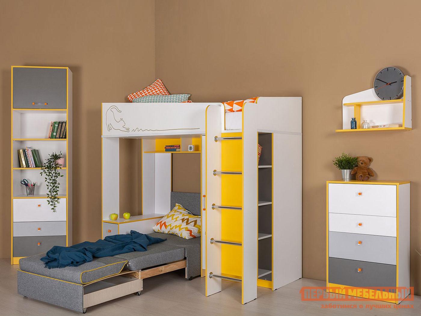 комплект детской мебели первый мебельный жили были k1 Комплект детской мебели Первый Мебельный Комплект детской мебели Альфа К3