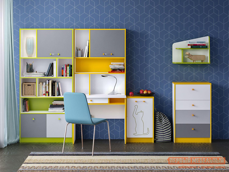 комплект детской мебели первый мебельный жили были k1 Комплект детской мебели Первый Мебельный Комплект детской мебели Альфа К2