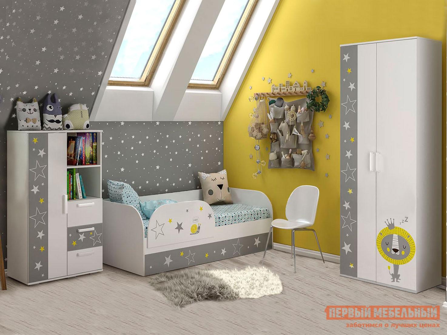 Комплект детской мебели Первый Мебельный Комплект детской мебели Трио К1