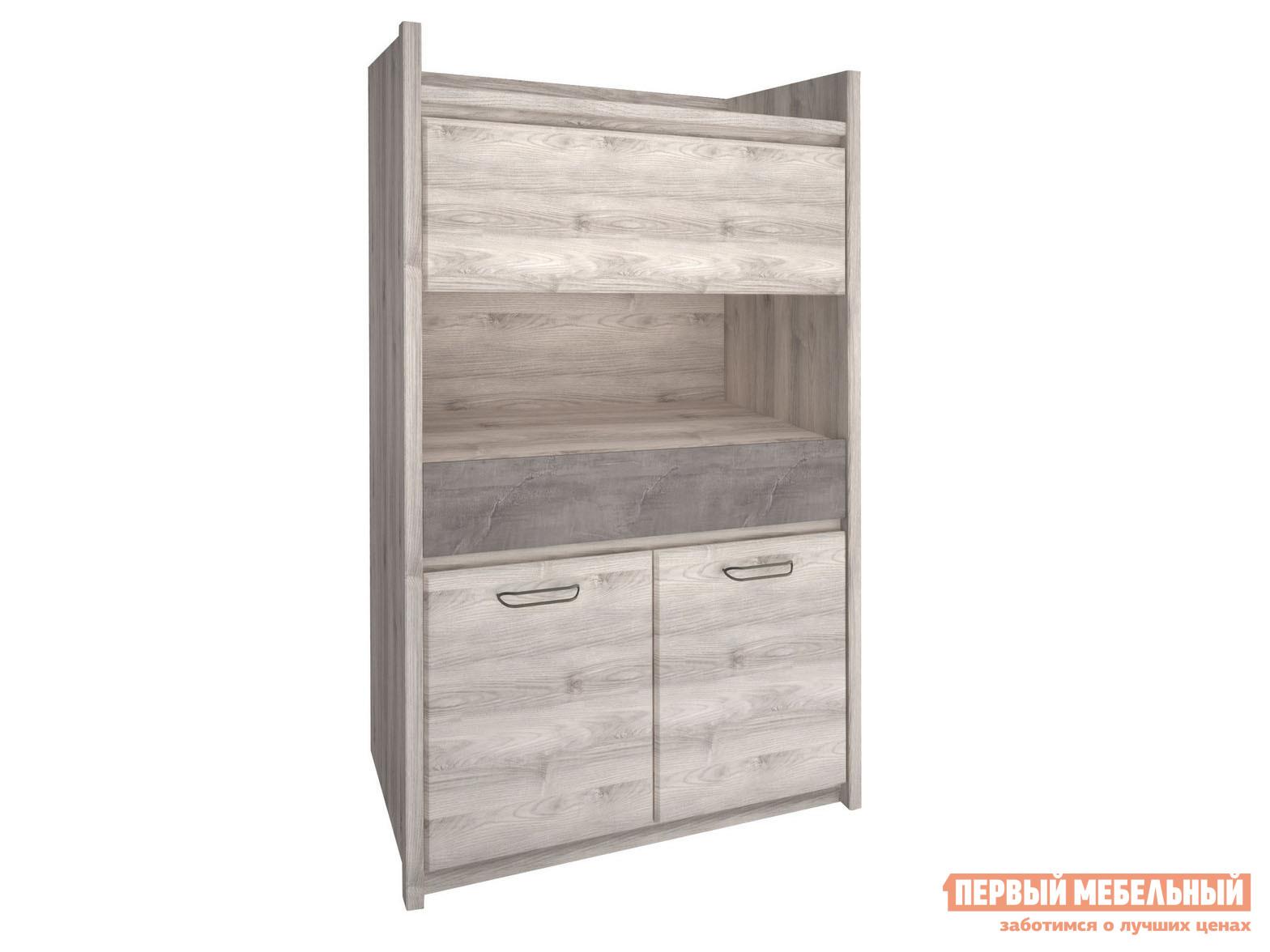 Шкаф-витрина Первый Мебельный Шкаф-витрина низкий 2 Джаз цены онлайн