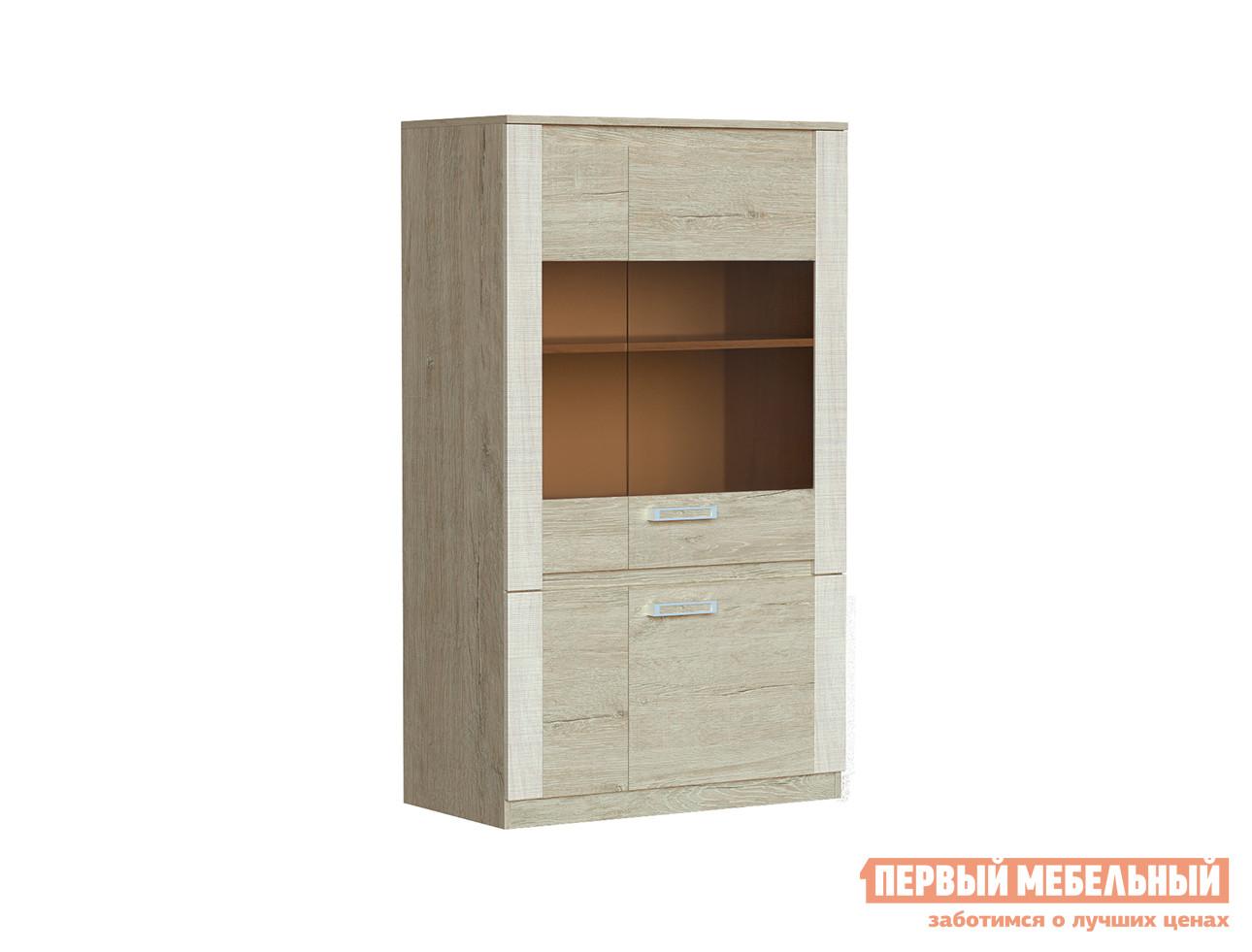 Шкаф-витрина Первый Мебельный Монте-Карло 3