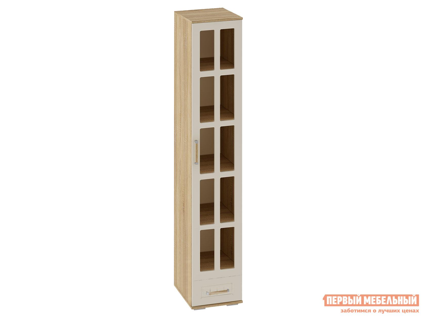 цена на Шкаф-витрина Первый Мебельный Узкий шкаф-витрина Маркиза