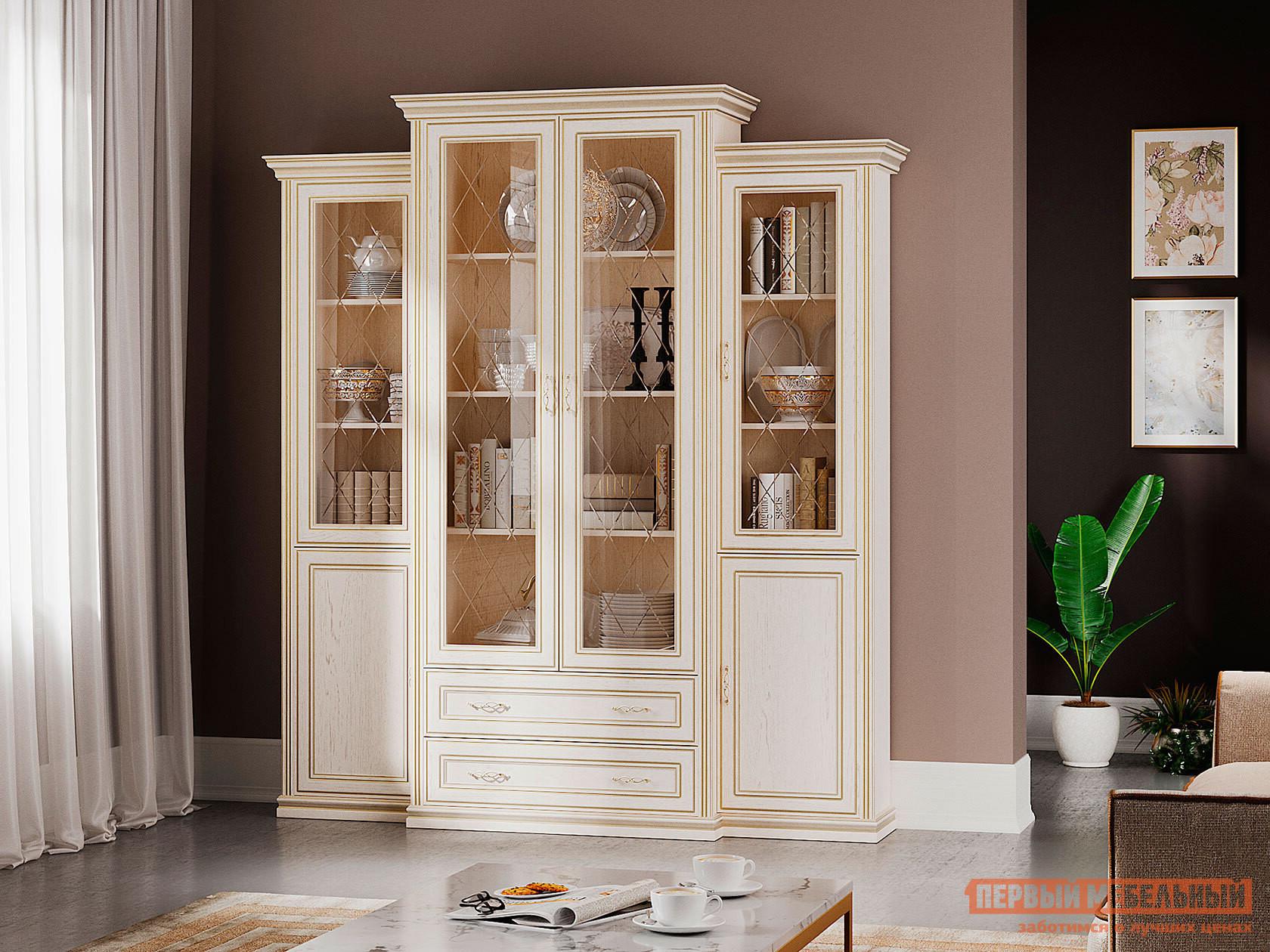 Шкаф-витрина Первый Мебельный Шкаф-Сервант Венето