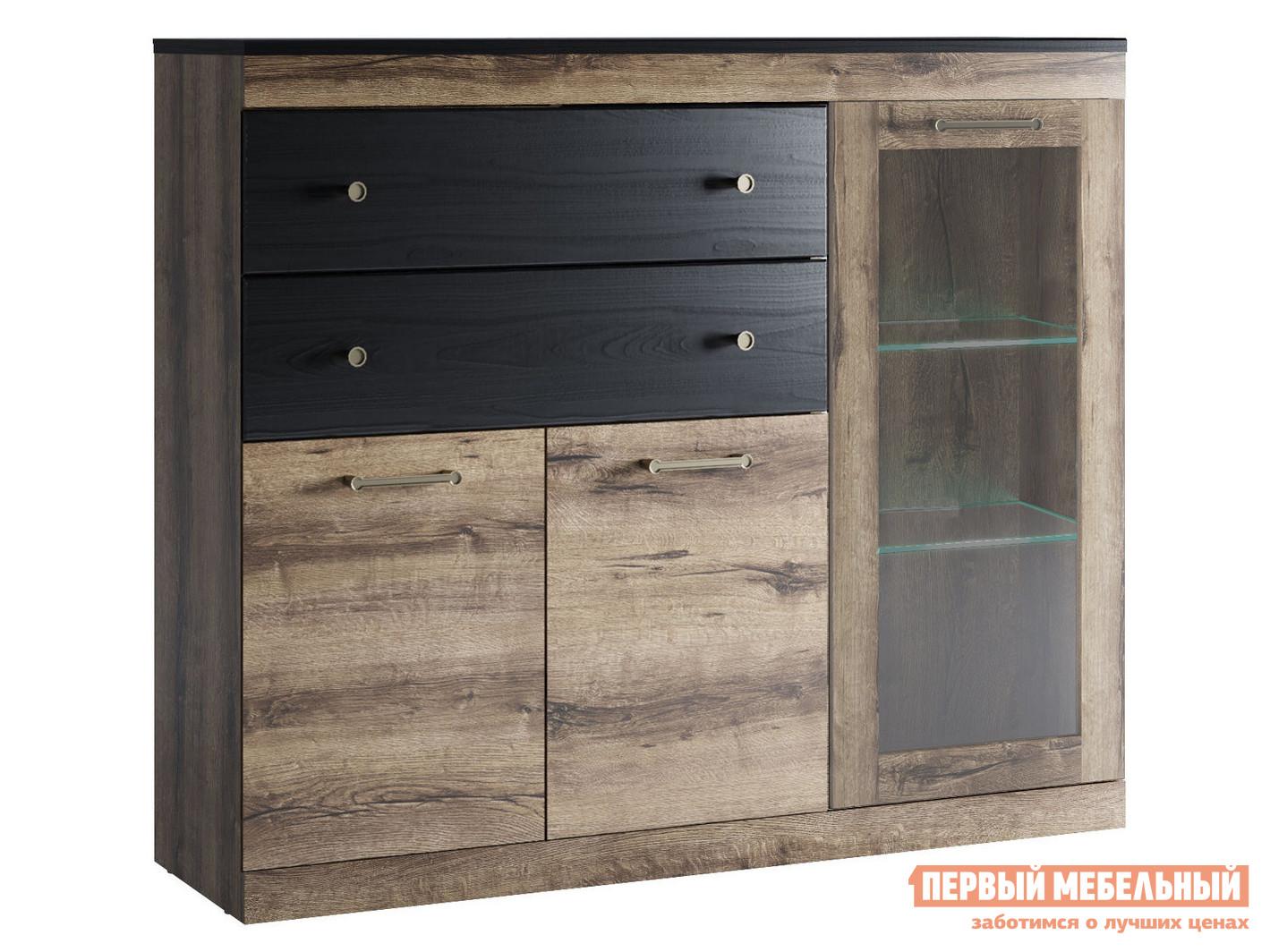 Шкаф-витрина Первый Мебельный Шкаф Джагер 6