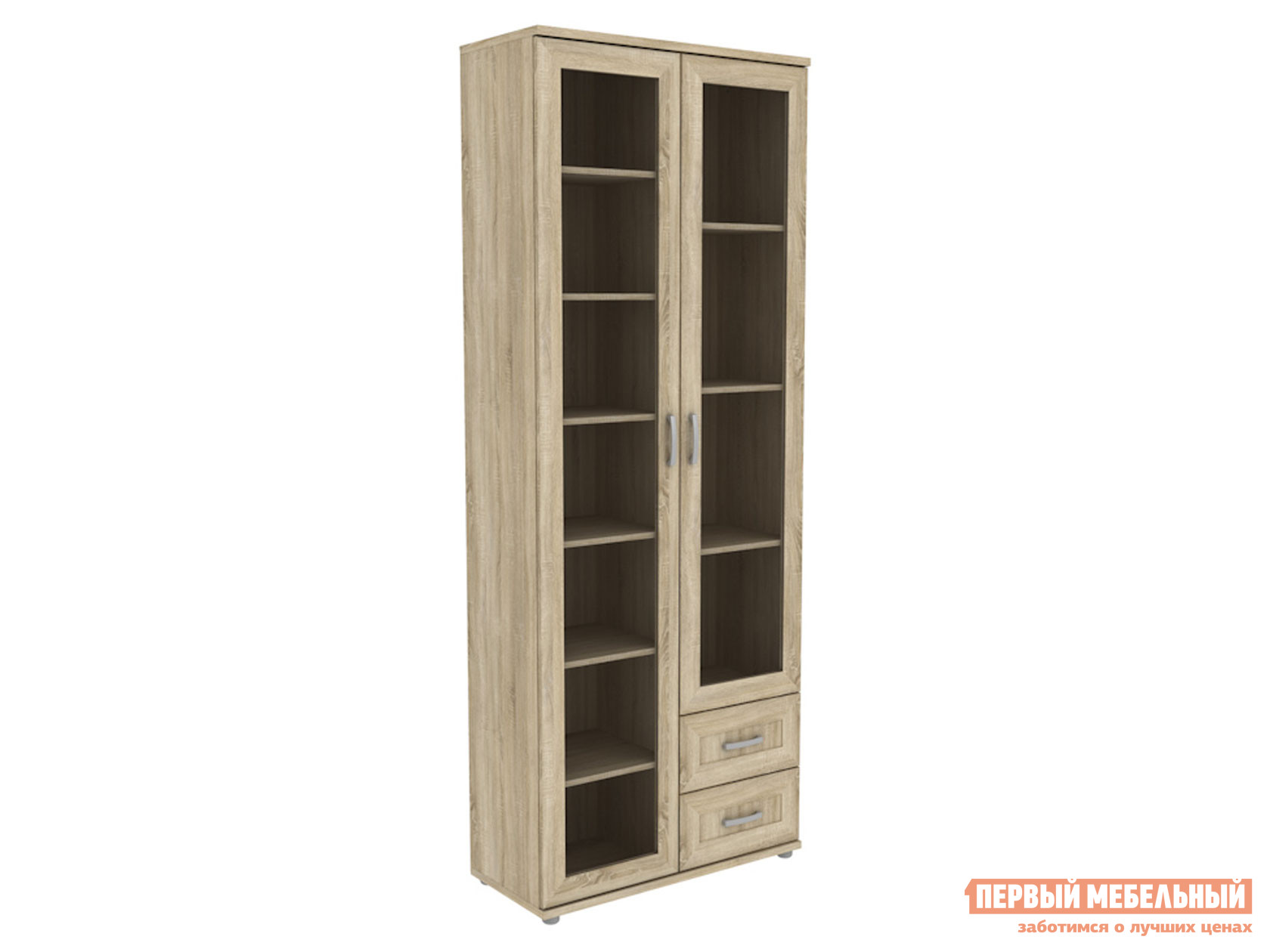 Шкаф-витрина Первый Мебельный Леруа АРТ 502.13 Шкаф для книг