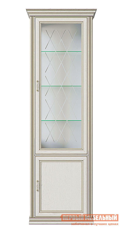 Шкаф-витрина Шкаф-витрина Венето Дуб молочный фото