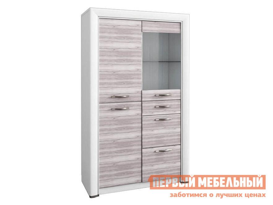 Шкаф-витрина Первый Мебельный Шкаф низкий Оливия