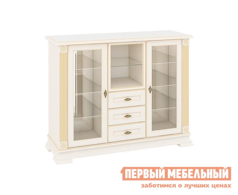Шкаф-витрина Первый Мебельный Витрина Афина ниизкая