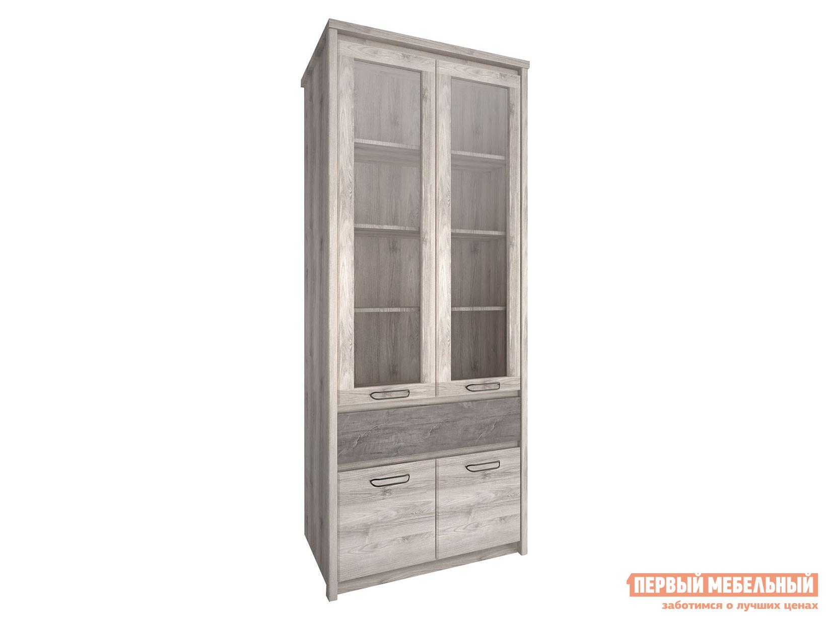 Шкаф-витрина Первый Мебельный Шкаф-витрина 2-х створчатый Джаз шкаф витрина timberica шкаф книжный айно 2