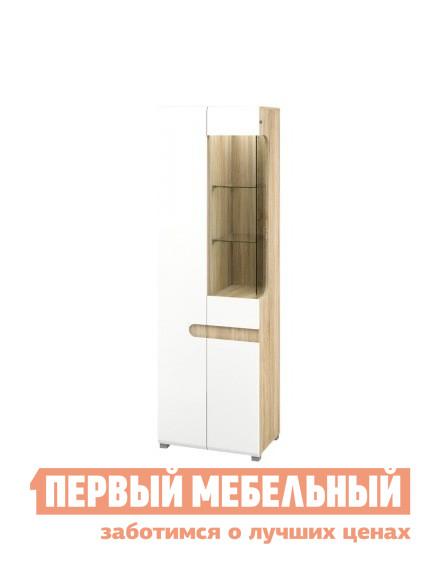 Шкаф-витрина Первый Мебельный Шкаф-витрина Леонардо левый/правый