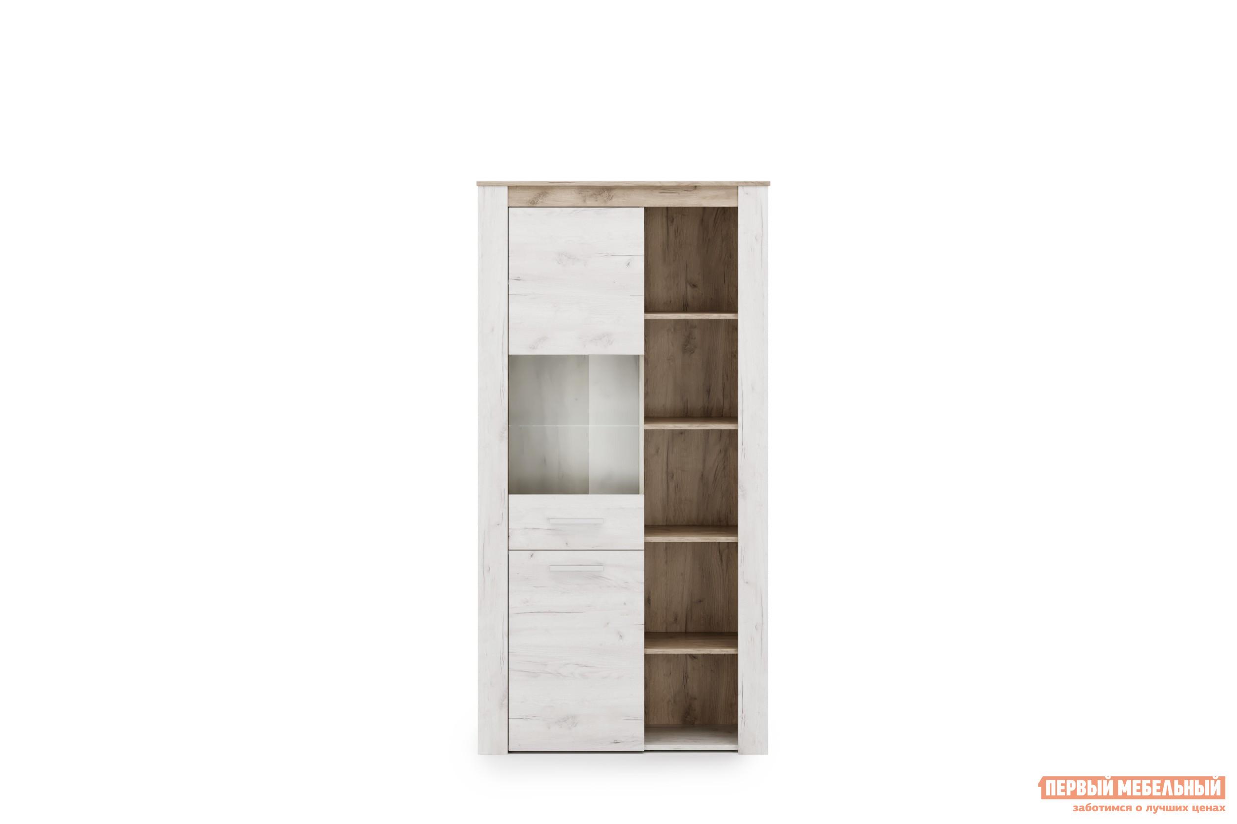 Шкаф-витрина Первый Мебельный Витрина 2 Амстердам цена