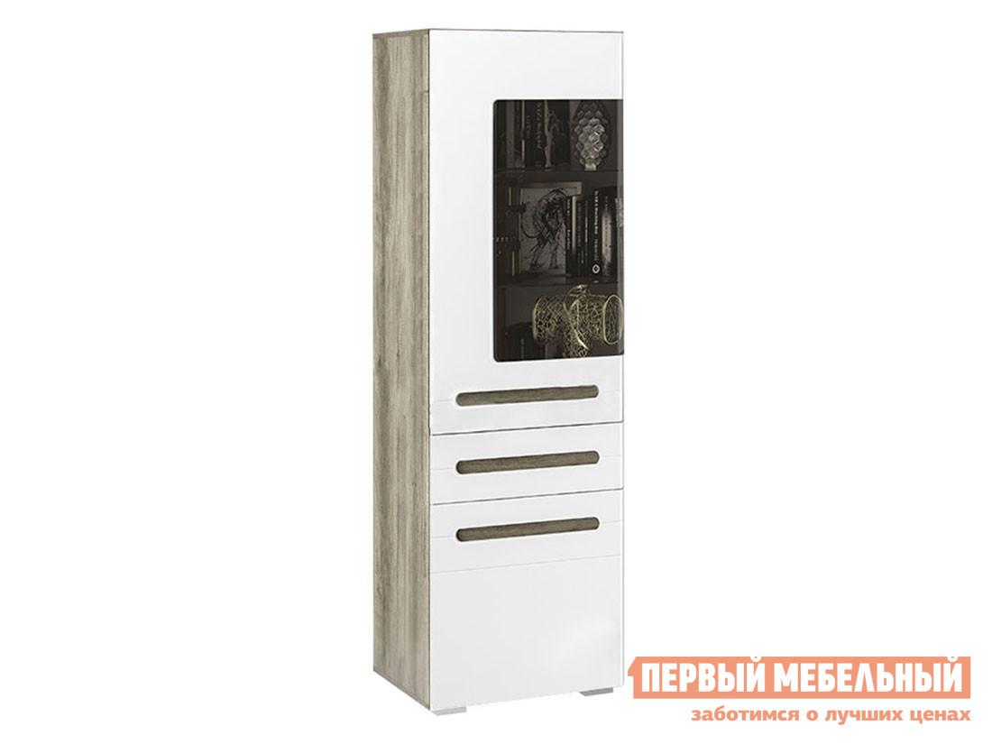 цена на Шкаф-витрина Первый Мебельный Шкаф-витрина Наоми