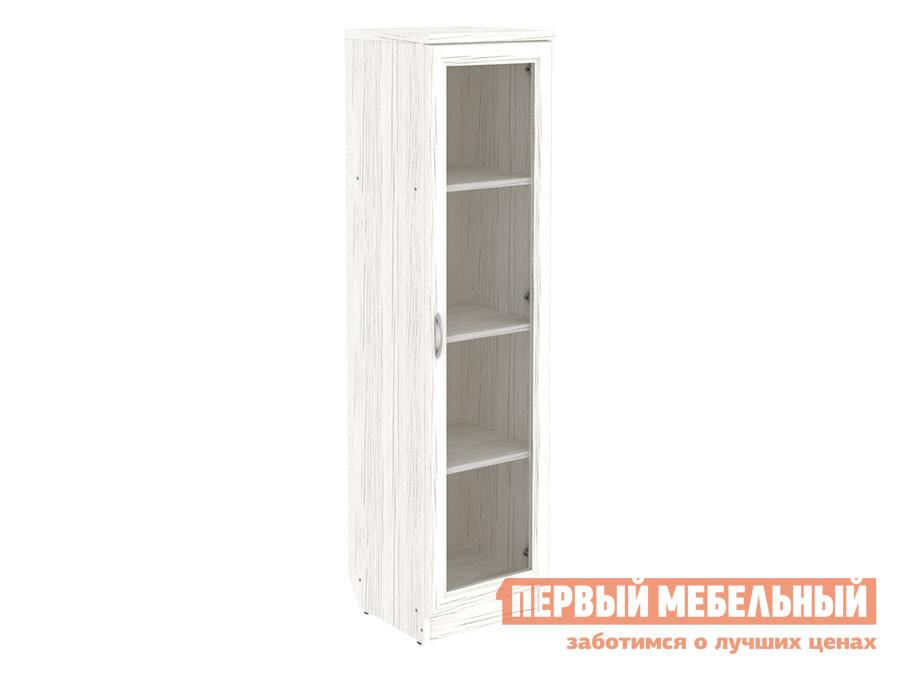Шкаф-витрина  Шкаф-витрина узкий Мерлен 212 Арктика — Шкаф-витрина узкий Мерлен 212 Арктика
