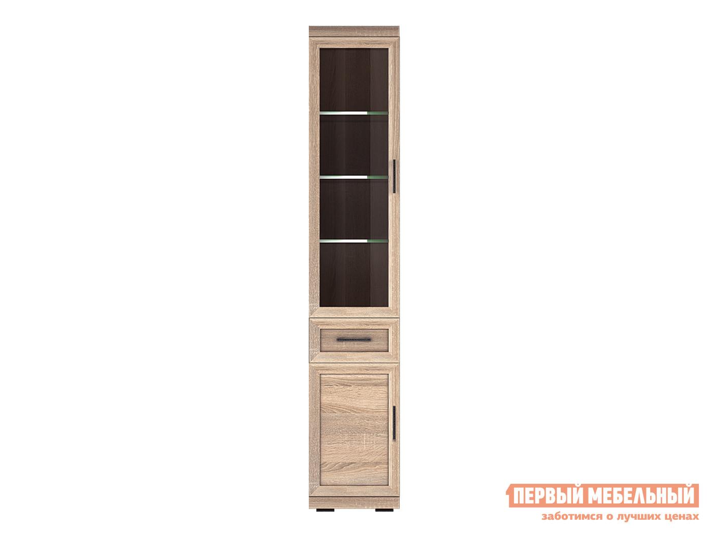 Шкаф-витрина Первый Мебельный Вега Прованс 1 шкаф первый мебельный вега прованс 10