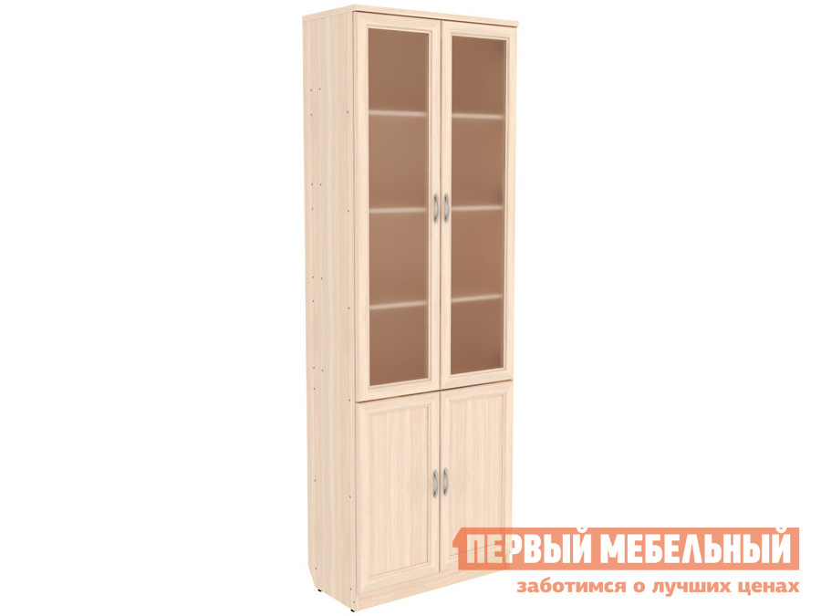 Шкаф-витрина  Шкаф-витрина Мерлен 200 Молочный дуб