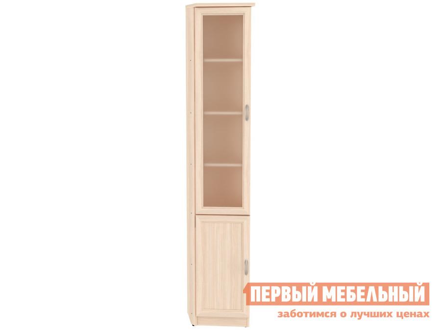 Шкаф-витрина  Шкаф-витрина Мерлен 209 Молочный дуб