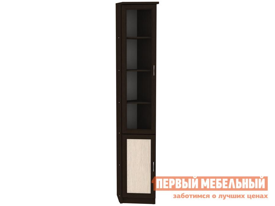 цена на Шкаф-витрина Первый Мебельный Шкаф-витрина Мерлен 209