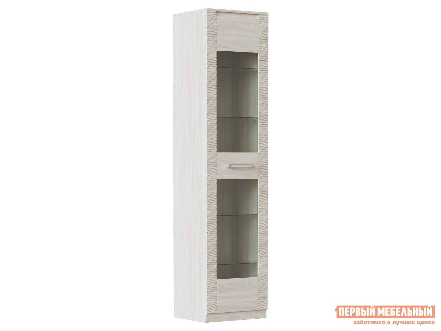 Шкаф-витрина Первый Мебельный Элегия ШК-144