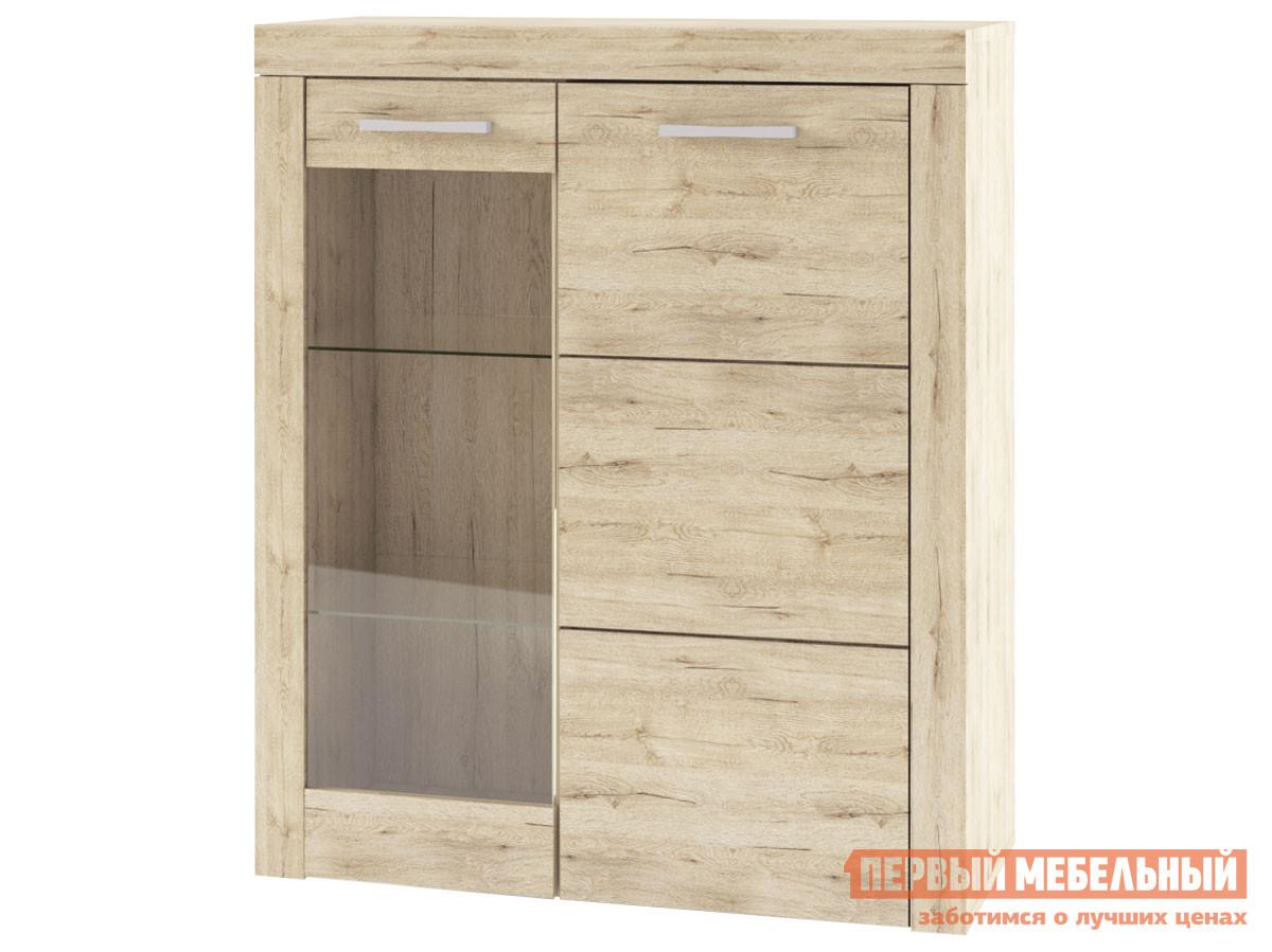 Шкаф-витрина Первый Мебельный Шкаф-витрина нзкая Оскар шкаф витрина первый мебельный шкаф витрина оскар