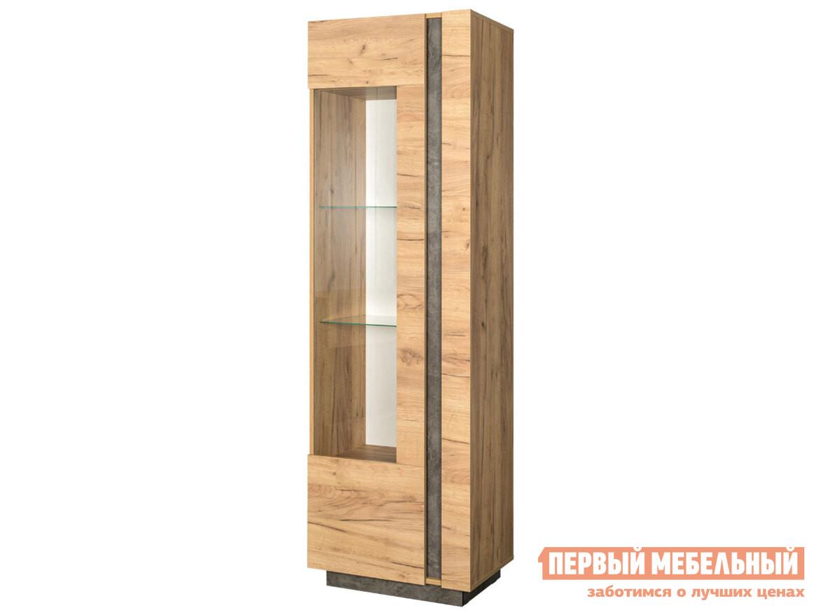 Фото - Шкаф-витрина Первый Мебельный Шкаф-витрина Арчи 03.263 шкаф витрина первый мебельный шкаф витрина узкий мерлен 216