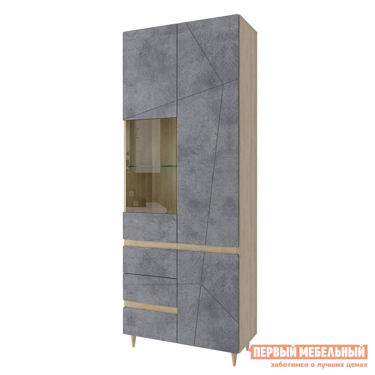 цена на Шкаф-витрина Первый Мебельный Шкаф витрина Самурай