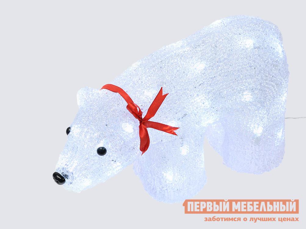 Светодиодная фигура  ULD-M3423-040/STA WHITE IP20 WHITE BEAR Белый
