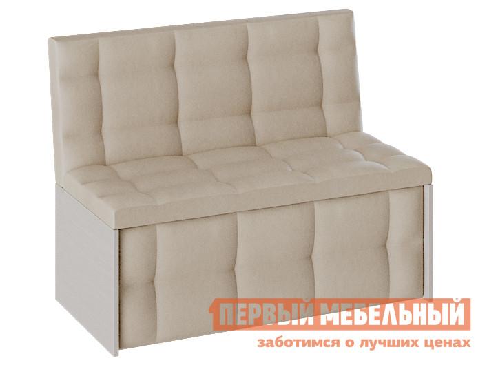 Кухонный диван  Кухонный диван Кредо Дуб молочный / Бежевый, экокожа