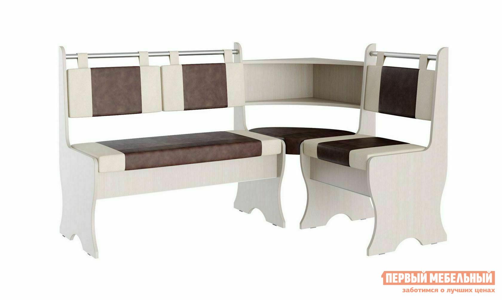 Кухонный уголок Первый Мебельный Скамья угловая Кэтрин цена