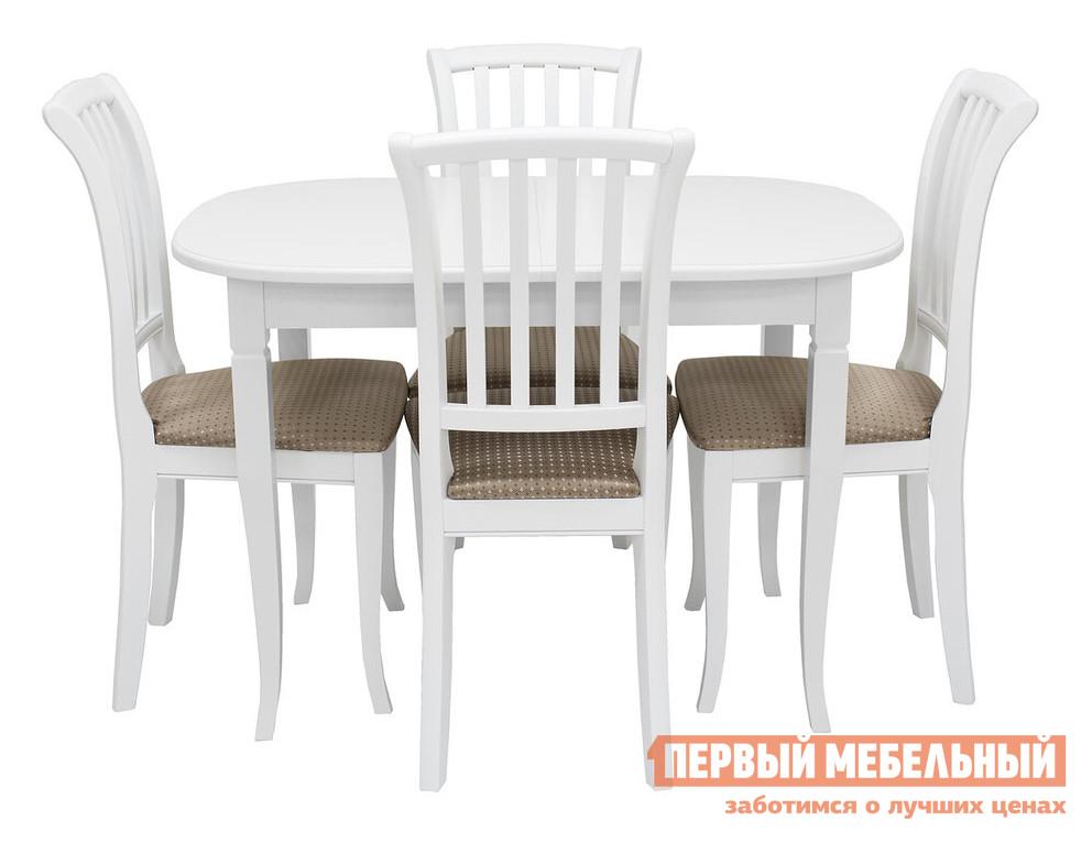 цены Обеденная группа для столовой и гостиной Мебель Импэкс Обеденная группа Аризона+Остин