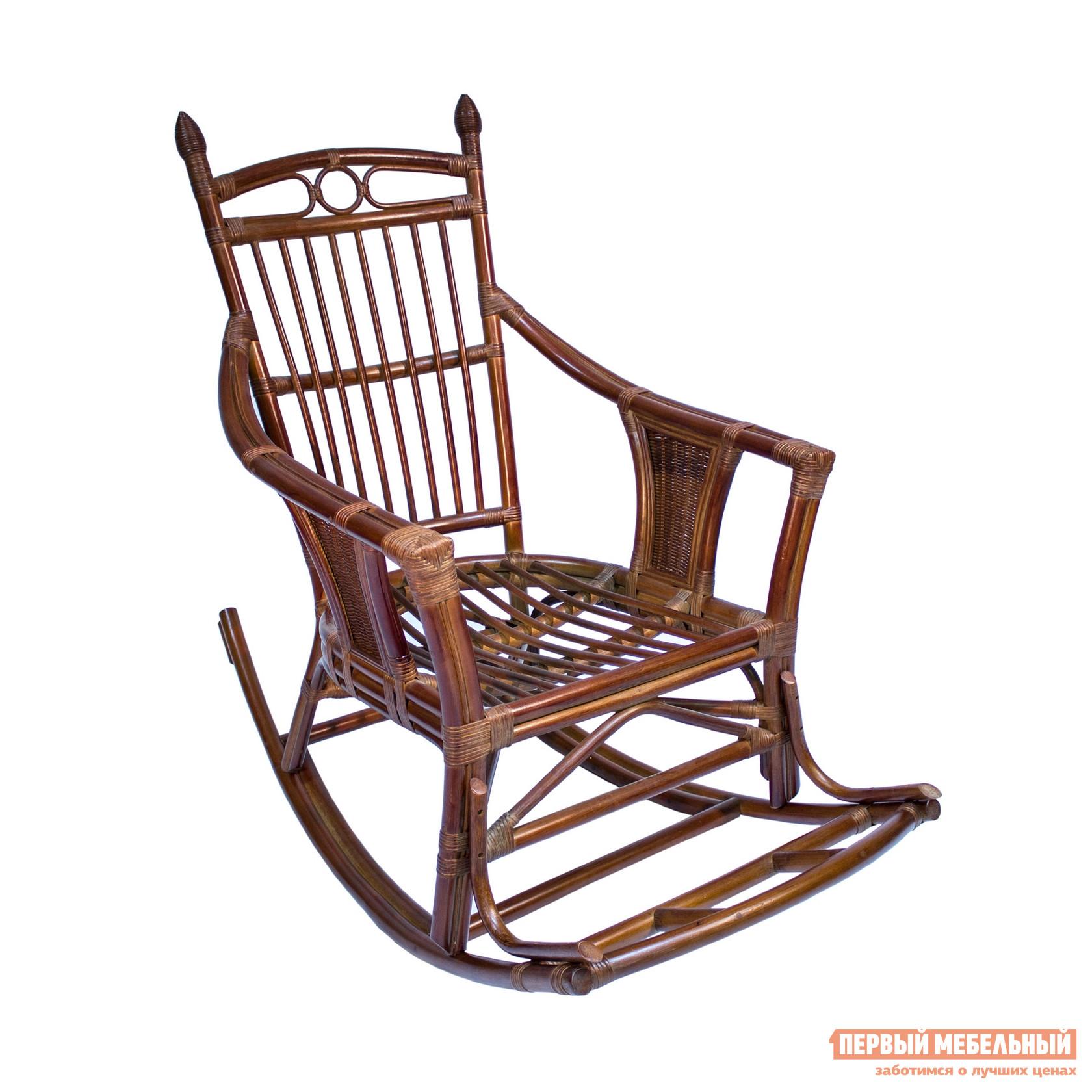 Плетеное кресло Мебель Импэкс Кресло-качалка Chita с подушкой