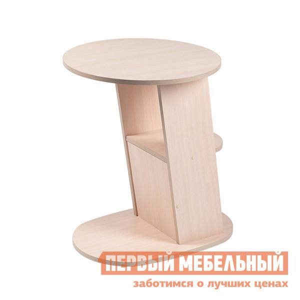 Журнальный столик Висан Стол подкатной №5 Молочный дуб