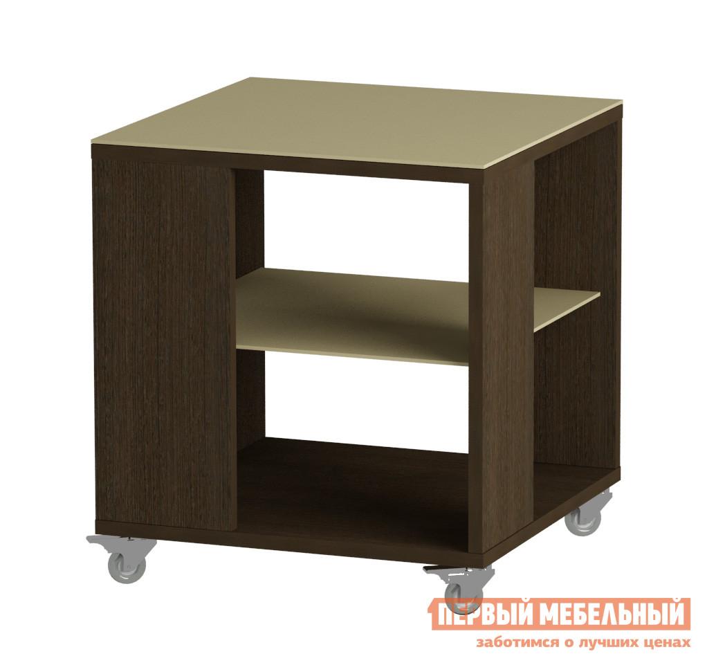 Журнальный столик с темным стеклом Мебель Импэкс Leset LS 732