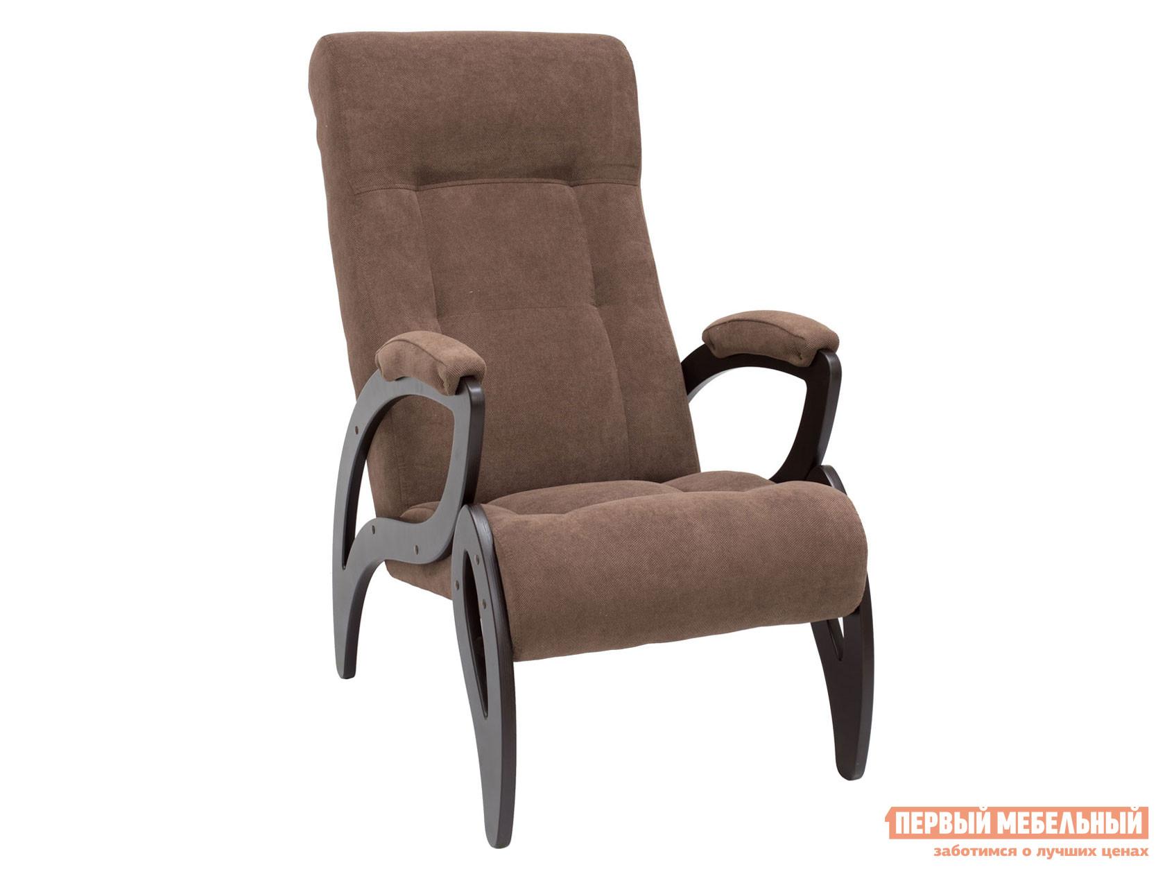 Кресло  Кресло для отдыха Комфорт Модель 51 Венге, Verona Brown, велюр