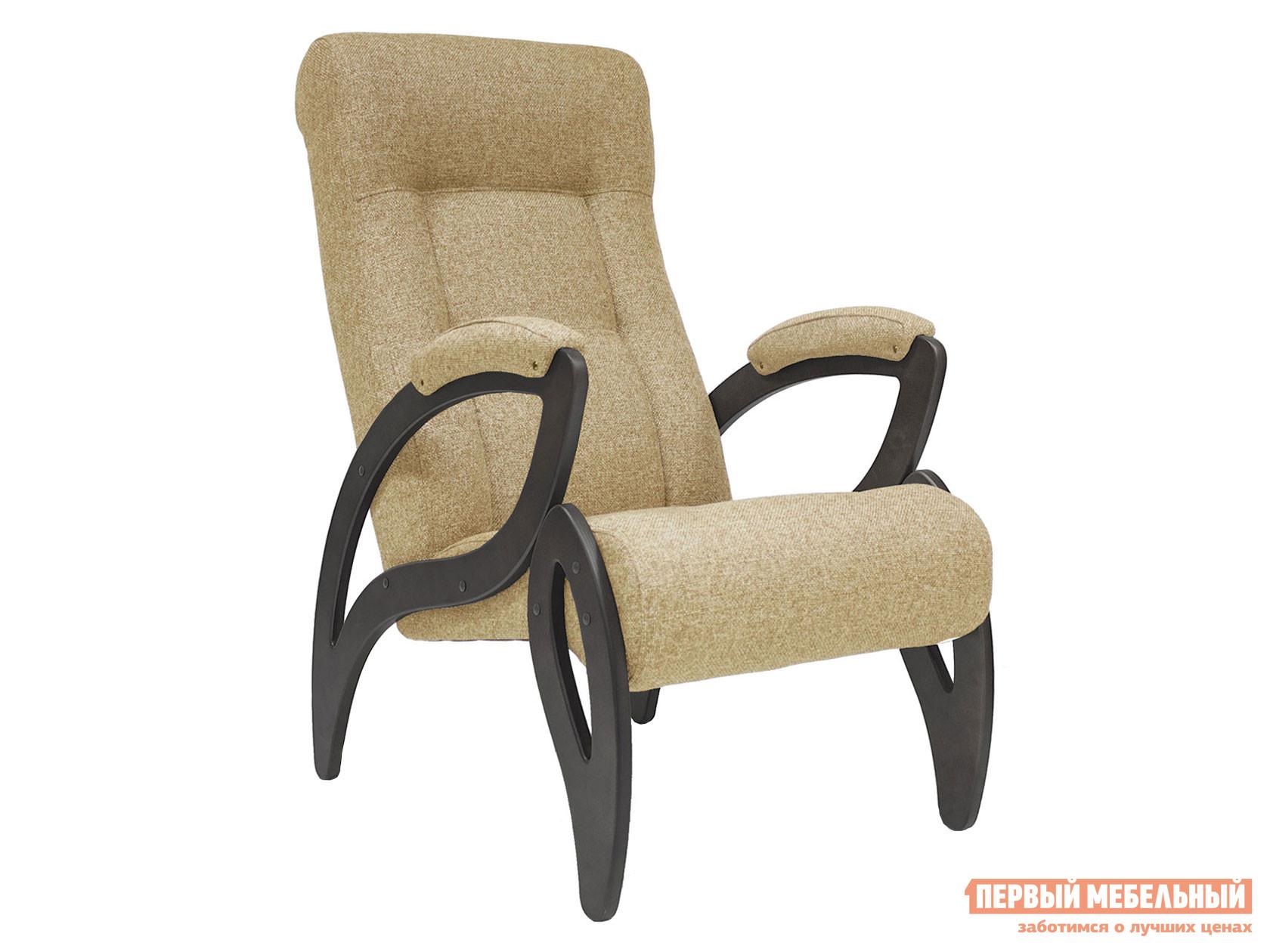 Кресло  для отдыха Комфорт Модель 51 Венге, Malta 03А, рогожка Мебель Импэкс 78621