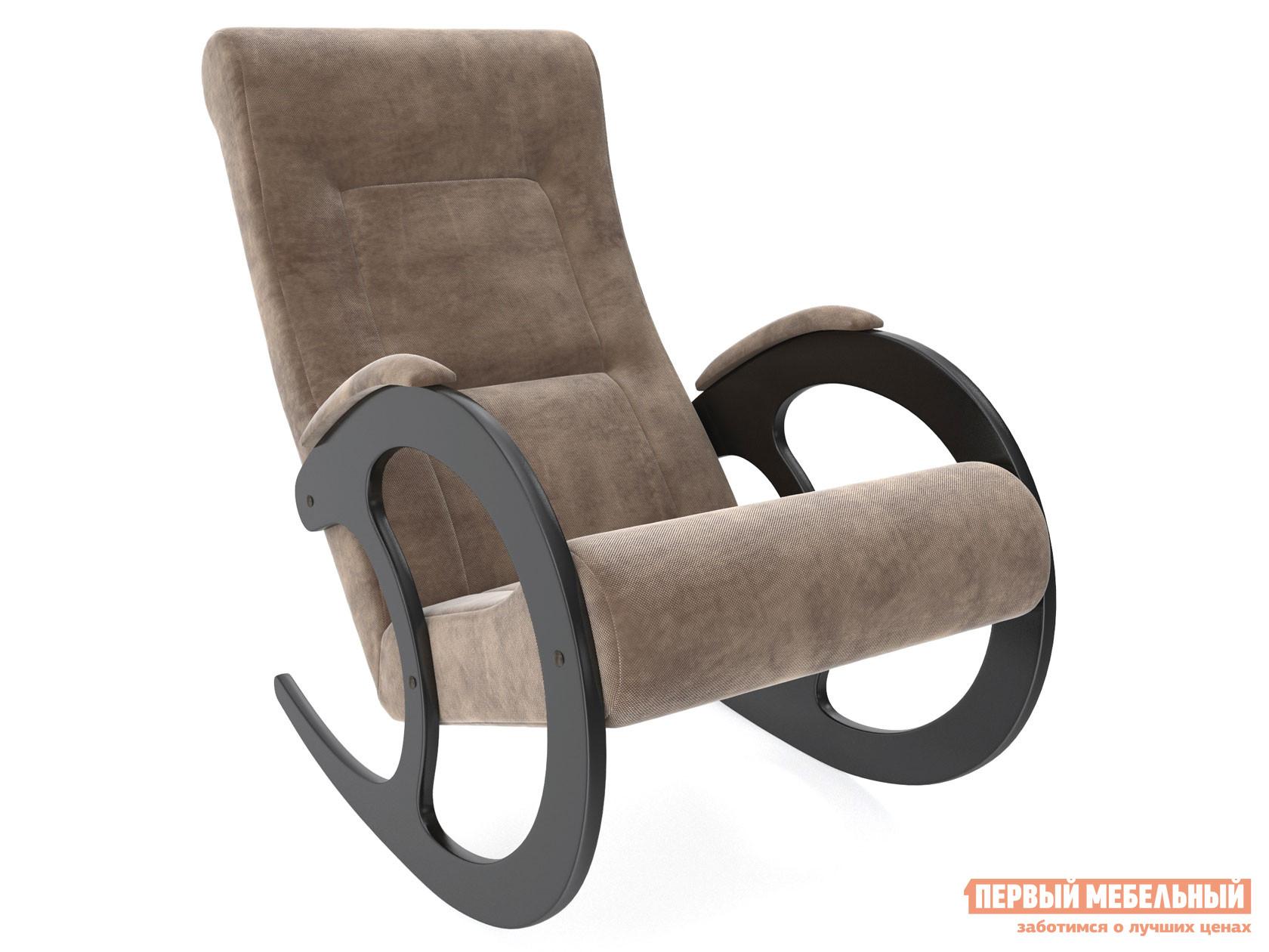 Кресло-качалка  Блуа КР Венге, Verona Brown, велюр Мебель Импэкс 99916