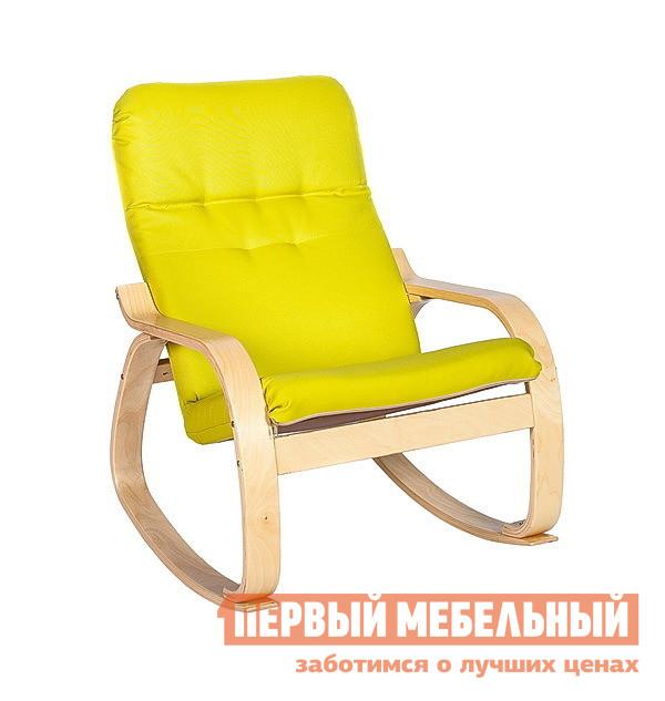 Кресло-качалка Мебель Импэкс Кресло-качалка Сайма ткань кресло мебель импэкс сайма экокожа 018 001 венге шоколад