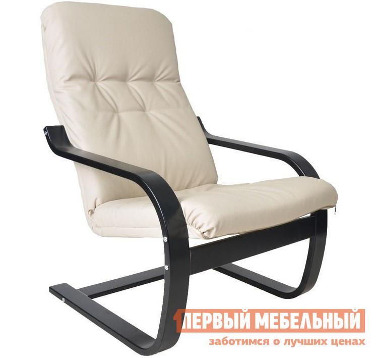 Кресло-качалка Мебель Импэкс Кресло Сайма Бежевая эко-кожа