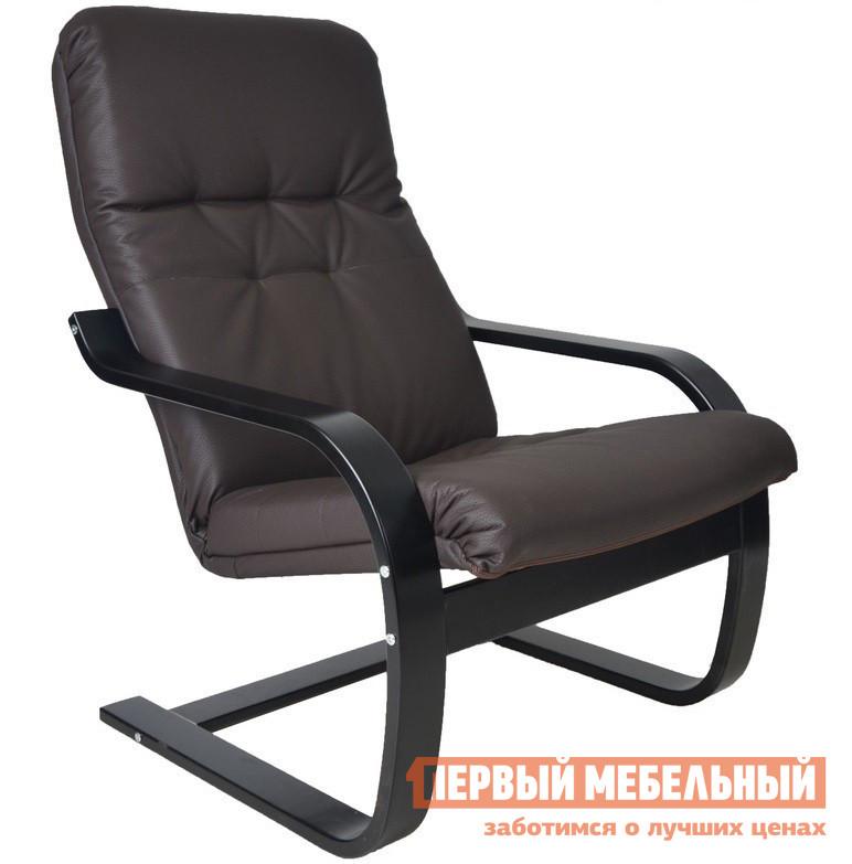 Кресло-качалка Мебель Импэкс Кресло Сайма Шоколад эко-кожа
