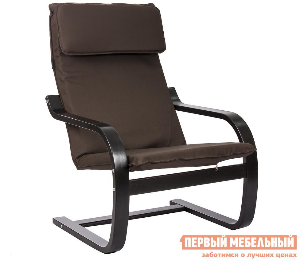 Кресло-качалка Мебель Импэкс Leset 102 Сиеста 31 Сильвер, Венге