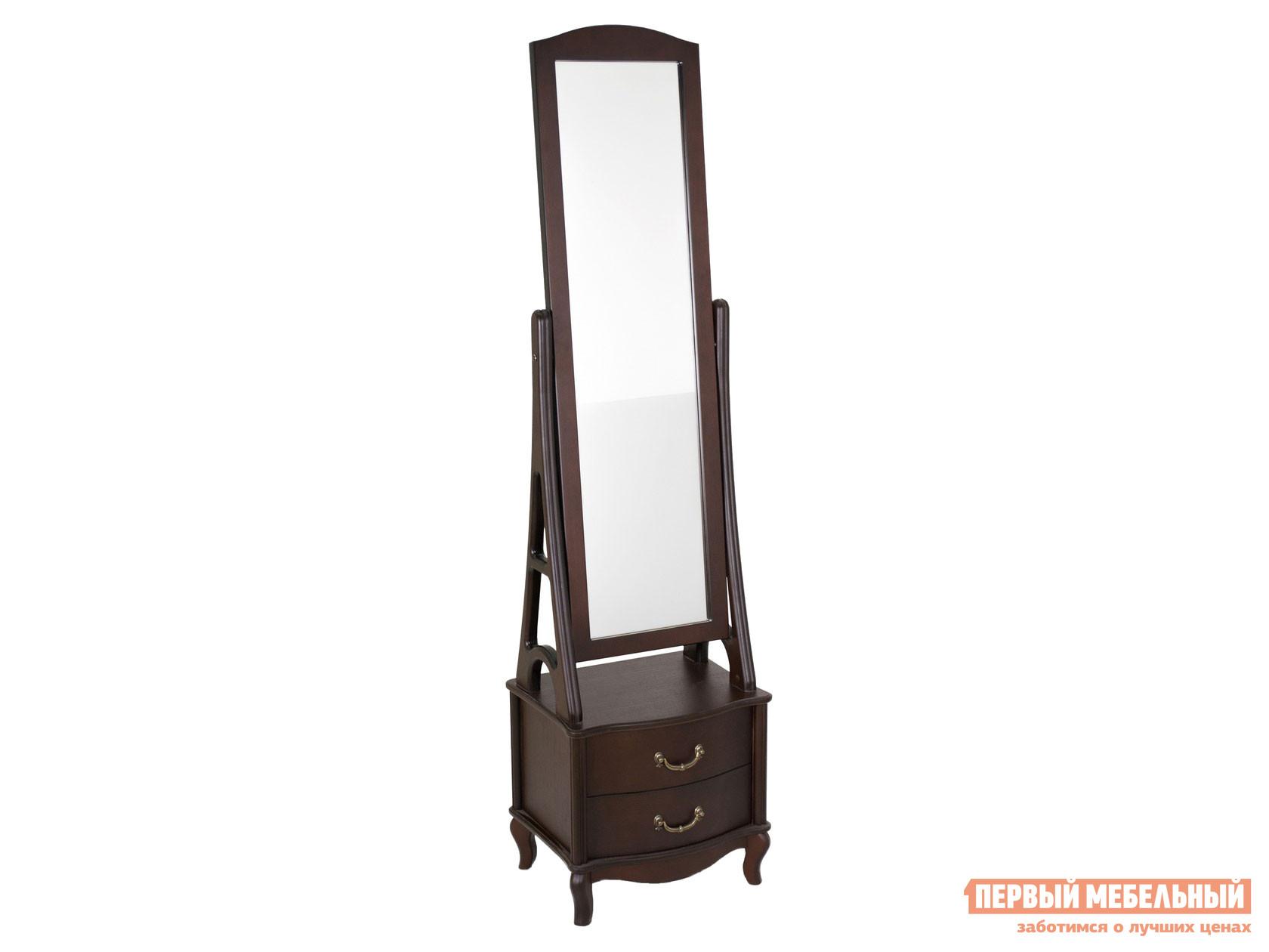 Напольное зеркало  Leset Джульетта Орех Мебель Импэкс 128161