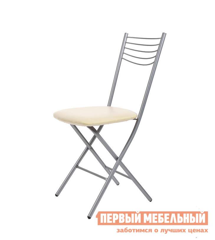Стул Мебель Импэкс Leset 1006 Иск. кожа Слоновая костьСтулья для кухни<br>Габаритные размеры ВхШхГ 880x370x420 мм. Представленная модель складного стула станет прекрасным дополнением кухни или столовой.  Стальной каркас обеспечивает ему прочность и долговечность, а обивка из экокожи придает ему интересный внешний вид.<br><br>Цвет: Бежевый<br>Высота мм: 880<br>Ширина мм: 370<br>Глубина мм: 420<br>Форма поставки: В разобранном виде<br>Срок гарантии: 1 год<br>Тип: Складные<br>Материал: Металл<br>Материал: Искусственная кожа<br>С мягким сиденьем: Да<br>Без подлокотников: Да